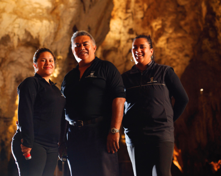 World famous Waitomo Caves New Zealand